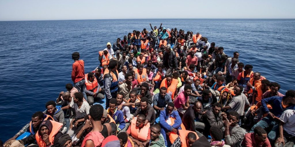 Photos Of Slave Trade In Libya >> The Italian Government fuels the new slave trade and ...